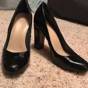 Kate Spade heels, black and tortoise